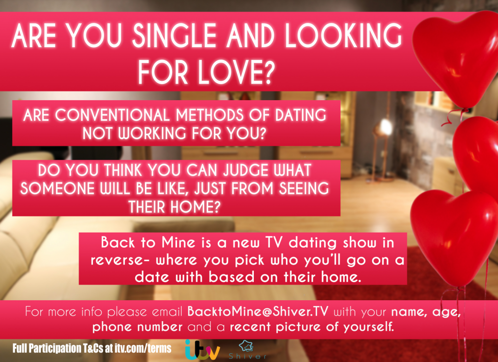 New ITV Dating show coming to Cheshire from Shiver
