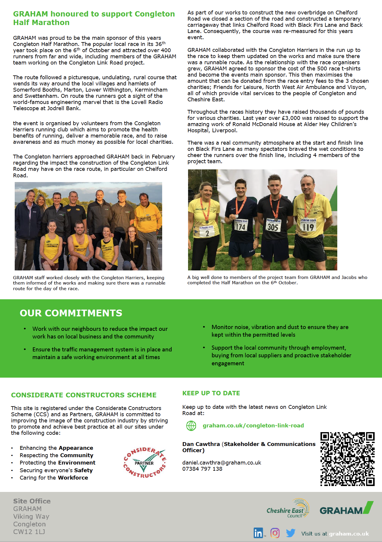Congleton Link Road Newsletter page 2