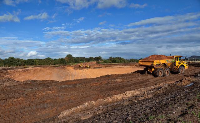 Congleton Link Road Construction