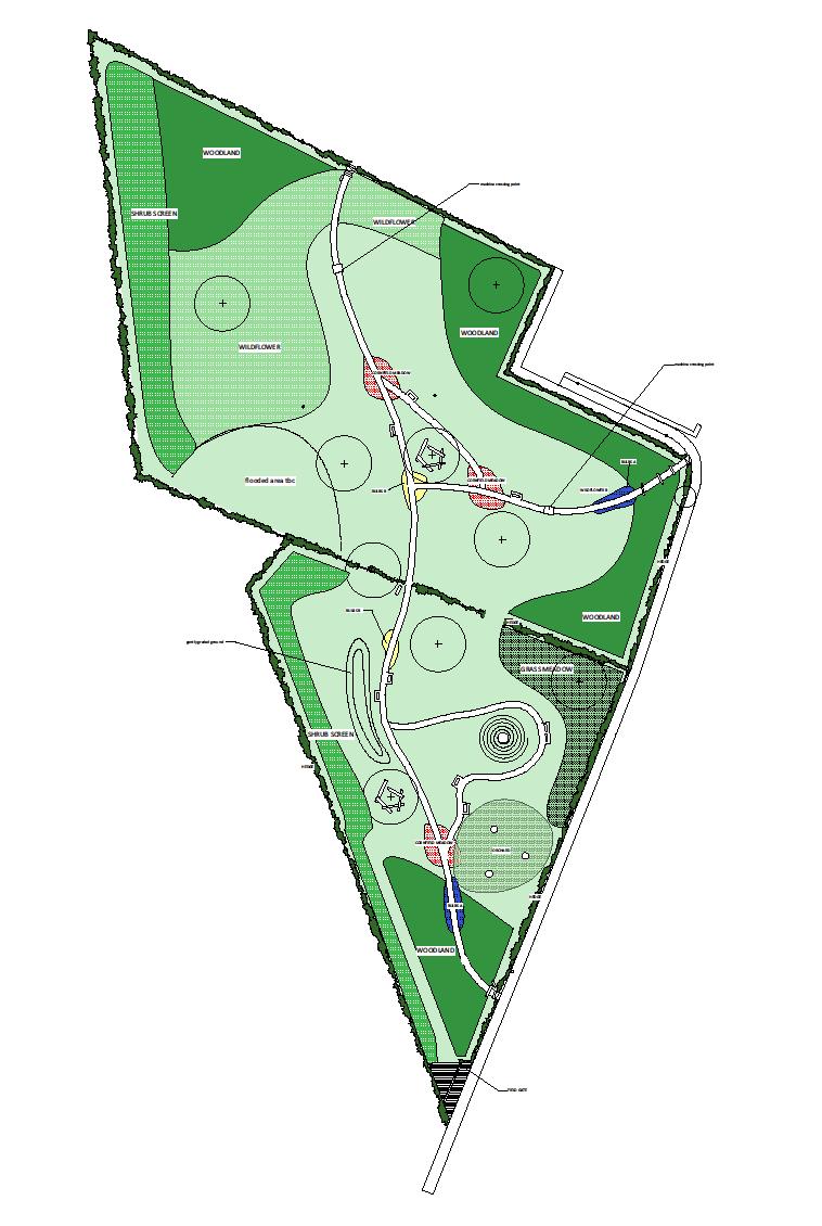 Rheads Meadow latest plan