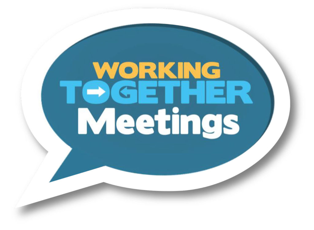 Working together meetings...