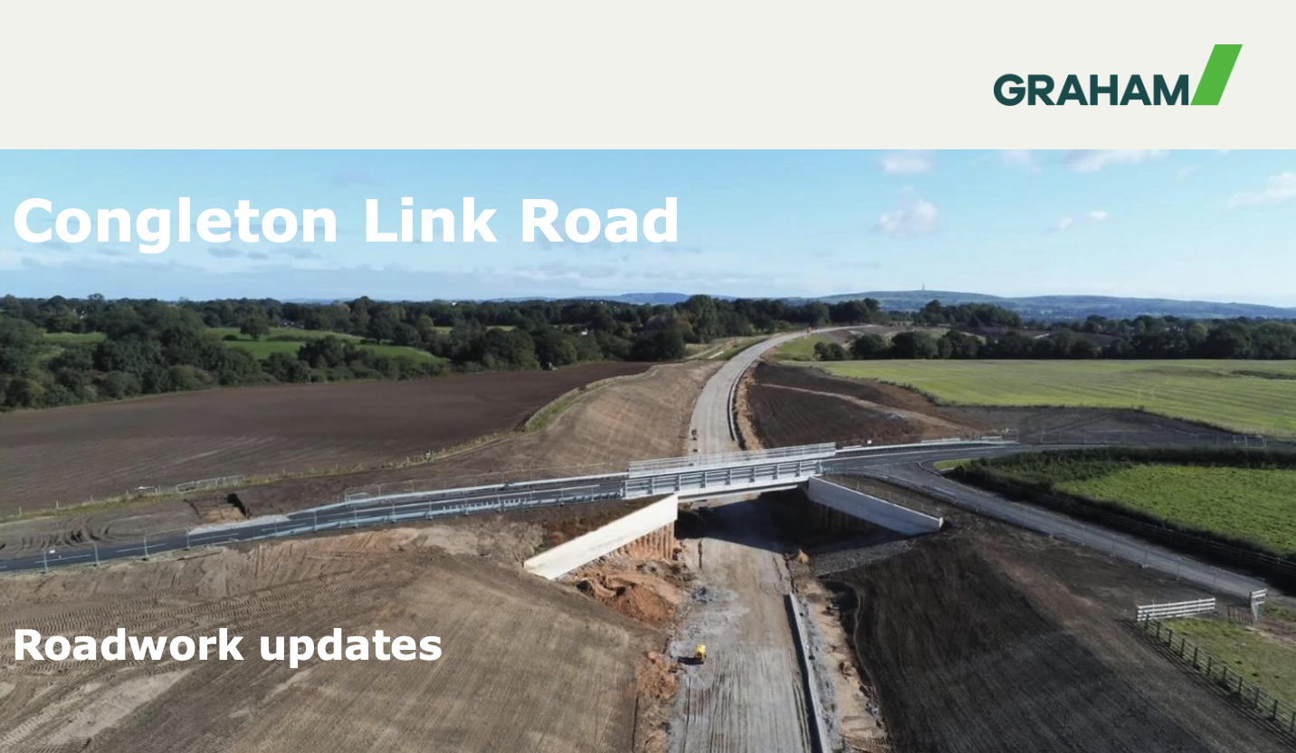 Congleton Link Road: Traffic Management Update October 2020