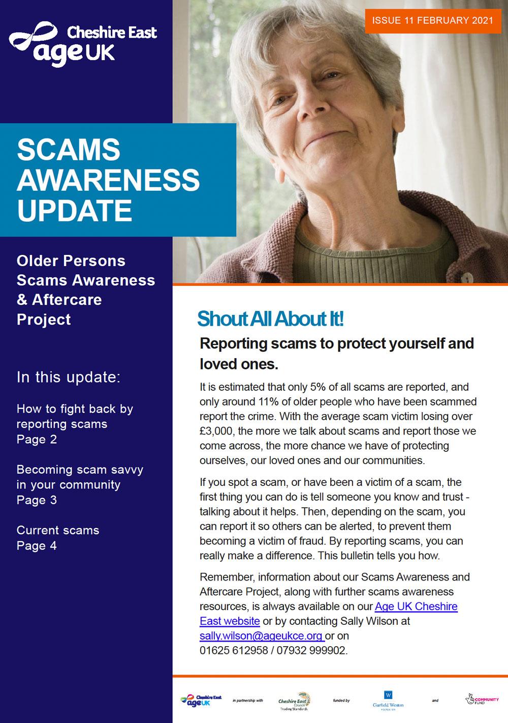 Age UK Scams awareness